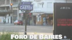 La Plazoleta Castex, justo enfrente al Parque Las Heras