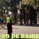 Los turistas y estudiantes cumplieron con el protocolo estricto en el día de la primavera
